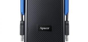Fürchte dich nicht mehr! Die Apacer AC631 USB 3.1 Gen 1 Military-Grade schockresistente tragbare Festplatte bietet