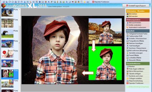 Neues Bildbearbeitungsprogramm mit genialer Druckfunktion