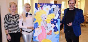 Pop Art von Tanja Playner trifft auf die edle Geschichte des Grand Hotel Euler in Basel