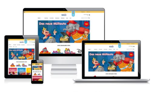 mzentrale macht Onlineshopping bei KIDDINX zum Erlebnis