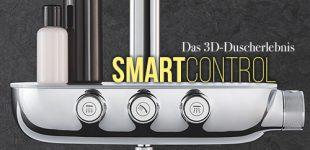 GROHE SmartControl – Entdecken Sie das 3D-Duscherlebnis