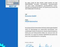 HDSX® erfolgreich beim Industriepreis 2018