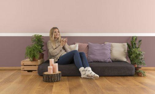 Erdige Farbtöne edel und zeitgemäß kombiniert – ökologische Lehmfarben von AURO für ein gutes Zuhause-Gefühl