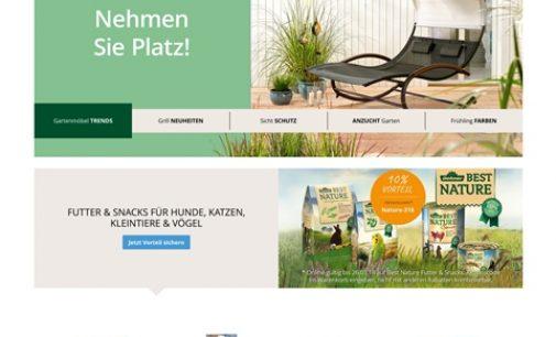 Dehner setzt mit mzentrale Benchmark im Online-Handel