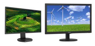 Die aktuellen Philips Full-HD-Displays 221B8 und 243S5: eine neue Sicht für gesteigerte Produktivität
