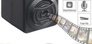 Somikon Ultrakompakte HD-Videokamera DV-705.cube