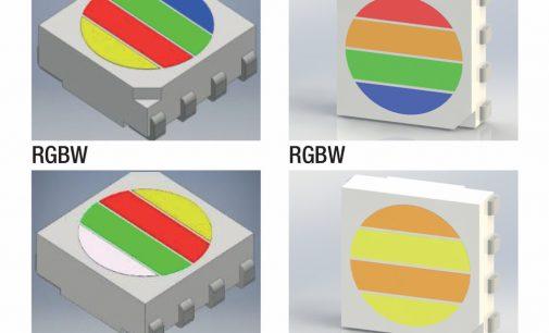 4-Farben-LED in einem Gehäuse neu bei euroLighting