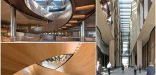 Schönheit und Nachhaltigkeit – der europäische Hauptsitz für Bloomberg
