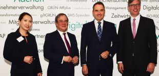 NRW zeigt großes Interesse an Stützpunkteröffnung des Kompetenzzentrums IT-Wirtschaft in Aachen