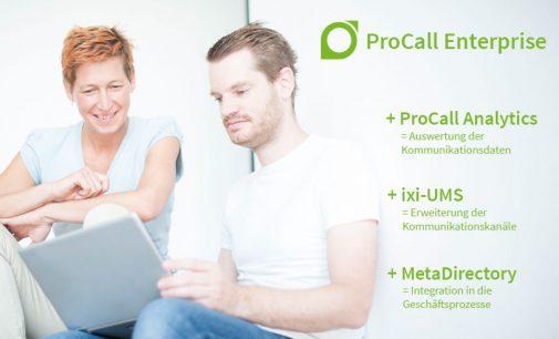Unified Communications & CTI Suite ProCall Enterprise smart erweitern