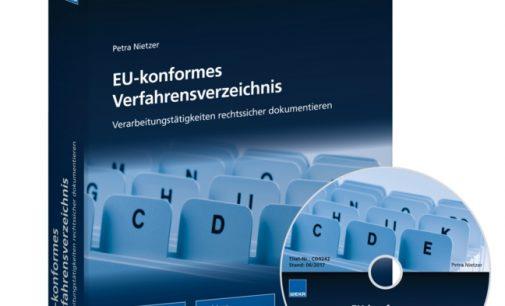 Unterstützung von WEKA MEDIA für ein EU-konformes Verfahrensverzeichnis
