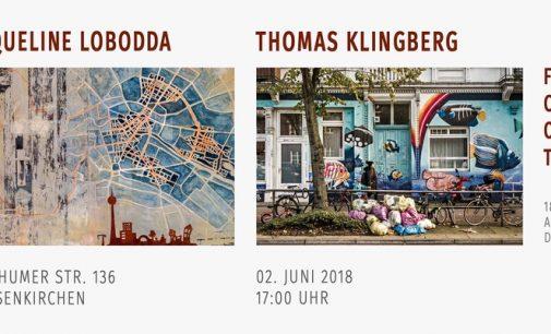 Ausstellung stadTraum in Gelsenkirchen am 2. Juni 2018 – Jaqueline Lobodda und Thomas Klingberg