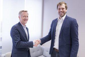 Dr. Carsten Thies, Vorstand Haufe-Lexware Real Estate AG, & Nicolas Jacobi, Geschäftsführer Immomio