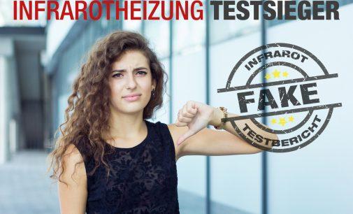 Vorsicht vor falschen Infrarotheizung Testsiegern