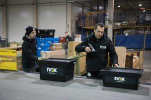 Bis zu 160.000 Packstücke transportiert nox NachtExpress jede Nacht.