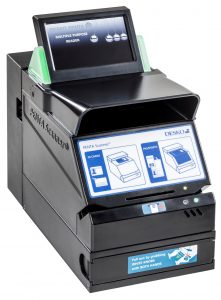 Der tragbare PENTA Scanner von DESKO eignet sich auch für die Mitführung im Einsatzfahrzeug.