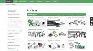 """InduShop-Besteller profitieren von jeder online platzierten Bestellung mit einem """"5 € Nachlass""""."""