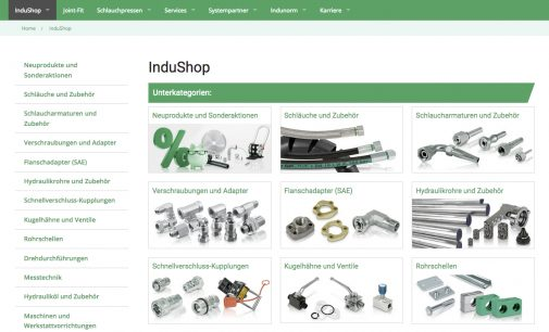 Upgrade des InduShop und der Indunorm Website