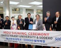 Sodexo und Südkoreas Daegu Haany Universität intensivieren Zusammenarbeit