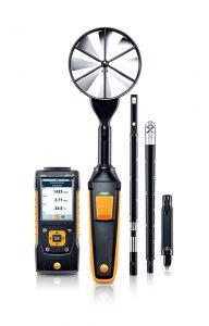 Klimamessgerät testo 440 mit intuitiven Messmenüs und modularem Sondensystem