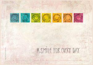 Positive und motivierende Kunstdrucke auf Leinwand von ART for smiling rooms.com