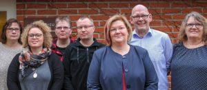 Der Vorstand des Landesverbandes von links nach rechts:  Kirsten Wandschneider, Nicole Fiebig, Sabin