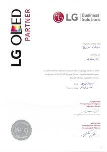 Die kommatec ist bis dato der einzige zertifizierte Händler in Norddeutschland für LG-OLED-Displays.