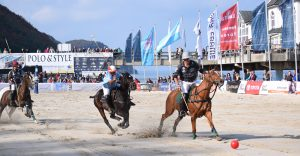 Beach Polo in Sellin direkt an der Seebrücke.- Baltic Polo Events GmbH