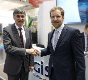 Michael Krüger, Geschäftsführer GISA und Stephan Preuss, Geschäftsführer QUANTIC Digital
