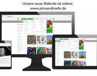 Pins & mehr – Werbeartikel mit neuem Web-Auftritt