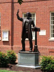 Denkmal von Frederick Douglass in Easton / Maryland