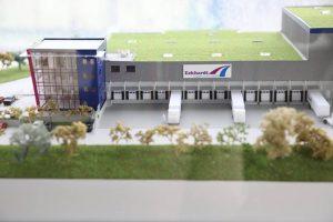 Das neue Eckhardt Logistikzentrum – ab Mitte, Ende 2018