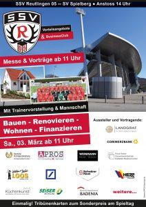 SSV Reutlingen - Messe rund ums Haus und Trainervorstellung