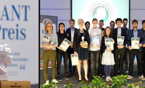 Private Kant-Schulen: Verleihung des KANT-Preises