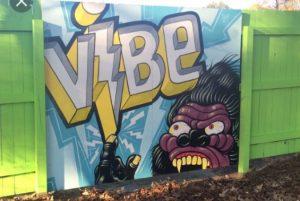 Street-Art im Künstlerviertel ViBe von Virginia Beach
