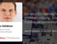 Die neue EU-Datenschutzgrundverordnung: Wir machen Sie fit!