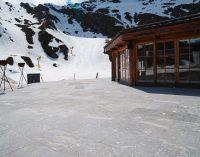 Skihütte am Kapruner Gletscher: Naturstein sicher vor Schneemassen geschützt – dank Gutjahr