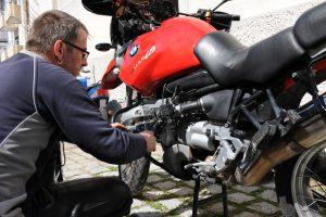 Interessenten sollten das Motorrad vor dem Kauf kritisch prüfen. Quelle: ERGO Group