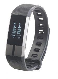Fitness-Armband FBT-105 mit Blutdruck-Anzeige, Herzfrequenz und Bluetooth
