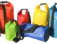 Outdoor Packsack/Drybag mit individuellen Werbedruck