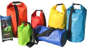 Packsack oder Drybag von Pins & mehr
