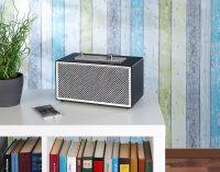 auvisio Mobiler Retro-Lautsprecher MSS-420.rtro