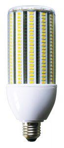 LED-Einschraublampe von euroLighting mit integrierter Nachtabsenkung für die Straßenbeleuchtung.