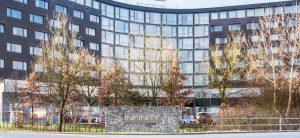 Infinity Hotel & Conference Resort, Unteschleißheim, das größte Tagungshotel Süddeutschlands.