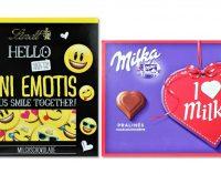 Schokotrend: Emojis voll im Kommen – außer zum Valentinstag