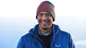 Unternehmer und Bergsteiger Steve Kroeger