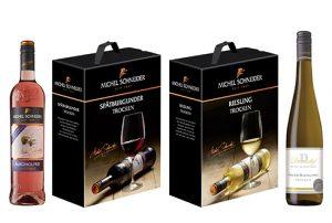 Neuheiten von ZGM: Michel Schneider alkoholfreie und Bag-In-Box sowie Donatushof Saar-Riesling