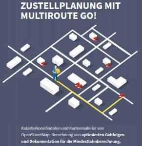 Röhm-Gruppe: Zustellplanung mit MultiRoute Go!