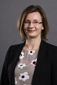 Karin Walker, Vorsitzende des Verbands der Konferenzdolmetscher (VKD) im BDÜ.