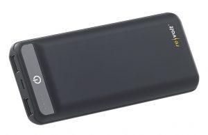 revolt USB-Powerbank PB-190 im Slim-Design, 20.000 mAh, 2 USB-Ports, 2,4 A, 12 Watt, www.pearl.de